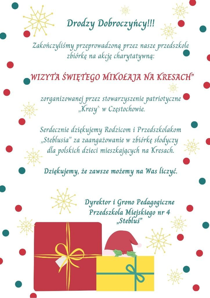 Red and Teal Dots Christmas Wish List (3)